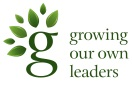 Growing our own leaders Logo for footers